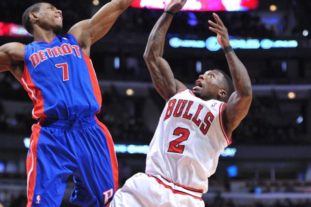 Pistons Blow Big Lead vs. Bulls