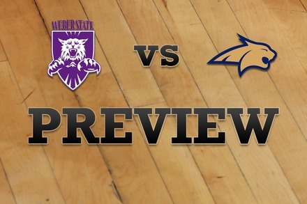 Weber State vs. Montana State: Full Game Preview