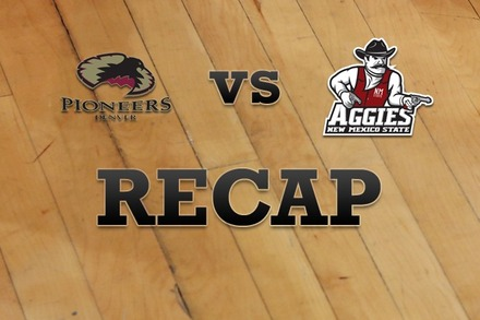 Denver vs. New Mexico State: Recap and Stats