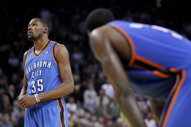 Thunder Slip Late to the Warriors, 104-99