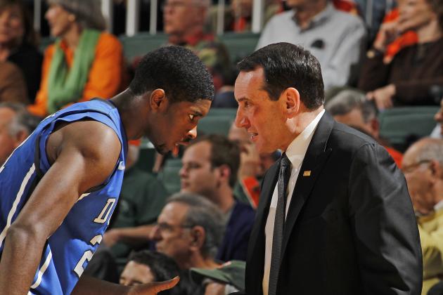 Duke Basketball: Duke's Response to Ugly Loss Will Define Its 2012-13 Season