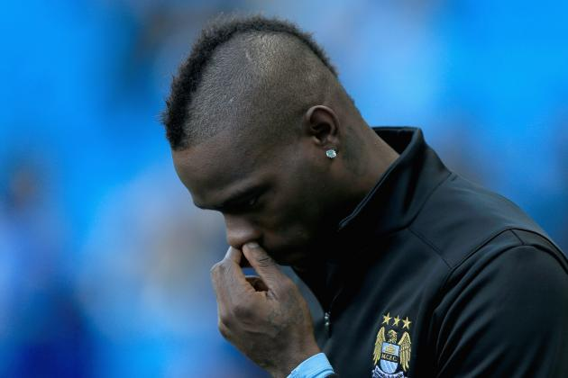 Overrated and Overpriced, It's Time for Man City to Say Goodbye Mario Balotelli