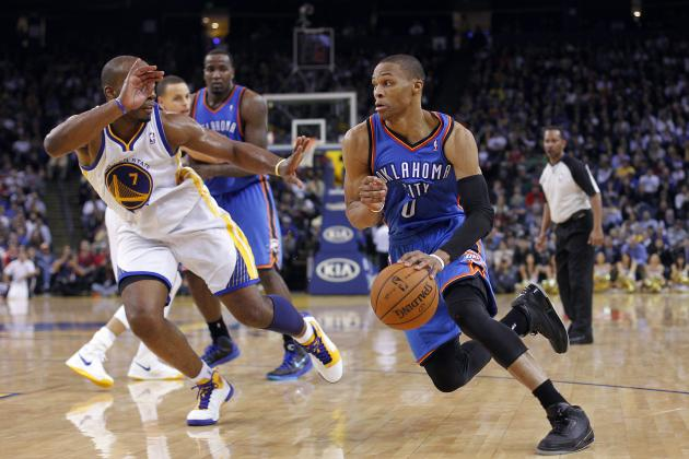 Golden State Upends Thunder, 104-99