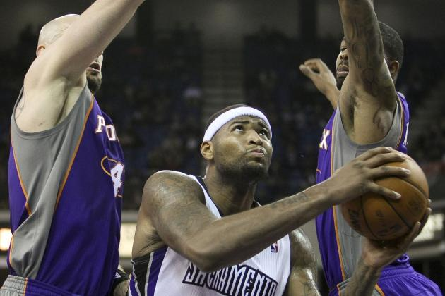 Kings Toss Game Away, but Shaq Praises Cousins