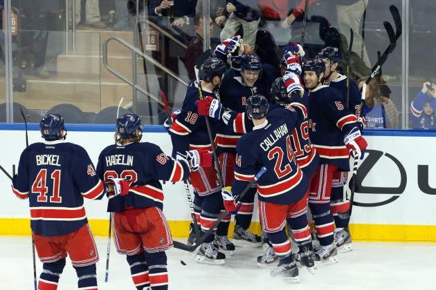 Boston Bruins vs. New York Rangers: It's in the Details