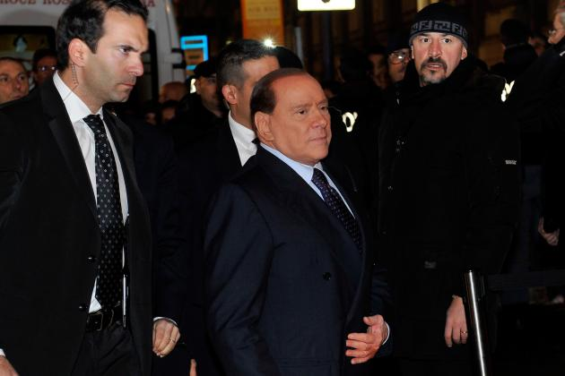 AC Milan President Berlusconi Claims No Moves for Balotelli or Kaka