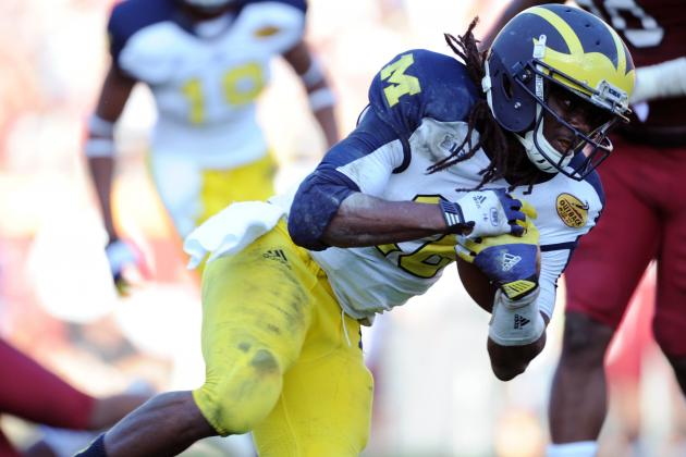 Michigan's Denard Robinson May Be Dropping in NFL Draft