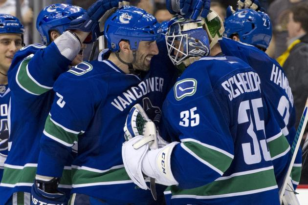 Schneider Bounces Back, Lifts Canucks in SO