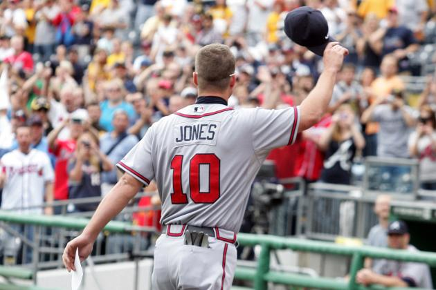 Chipper Jones Will Receive Lifetime Achievement Award