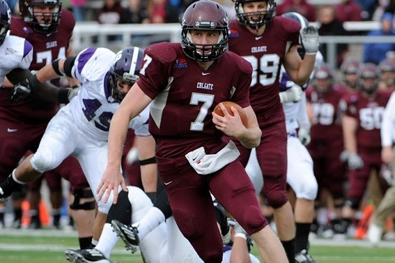 Gavin McCarney Leads Colgate Football's Offensive Onslaught over Georgetown
