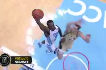 P.J. Hairston: North Carolina Guard Throws One Down (Video)