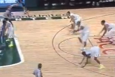 Hurricanes Mock Duke With Floor Slap