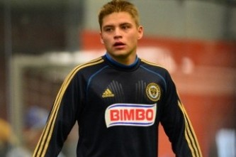 Union Sign Harrisburg Native Alex Mendoza