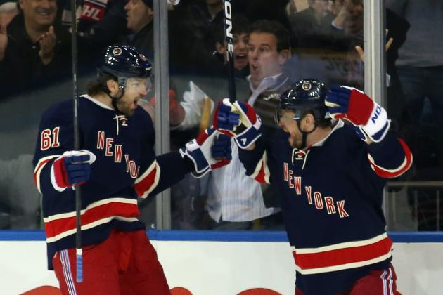 New York Rangers Must Keep Nash-Richards-Gaborik Line Intact for Rest of Season