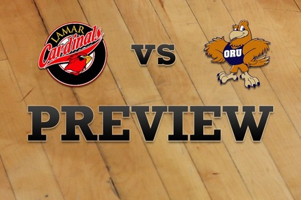 Lamar vs. Oral Roberts: Full Game Preview