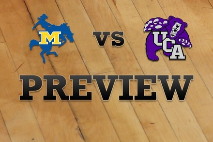 McNeese State vs. Central Arkansas: Full Game Preview