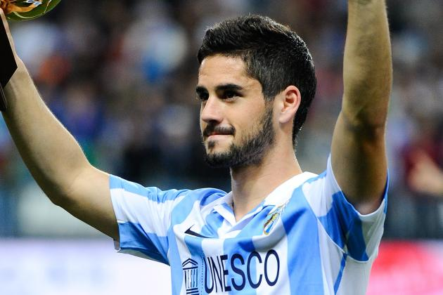 Reported Manchester City Target Isco Set to Sign Malaga Contract Extension