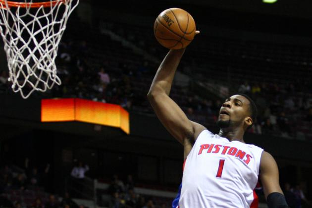 Pistons GM Joe Dumars on Andre Drummond