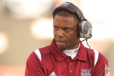 Walker Leaving New Mexico State Job for NFL
