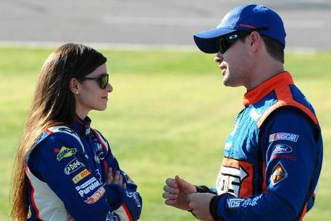 Is Danica Dating Ricky Stenhouse?