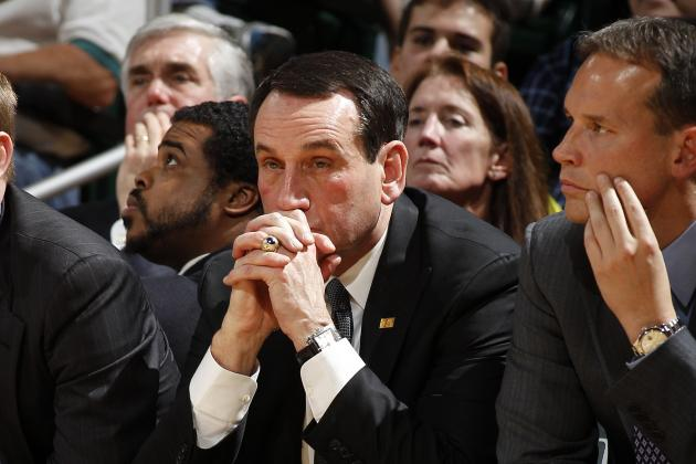 Coach K Denies Duke Broke NCAA Rules with Overnight Practice