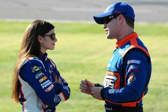 Sprint Cup's Ricky Stenhouse Jr. Answers Danica Patrick Dating Rumors