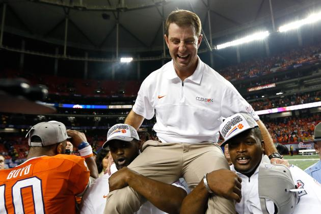 Swinney Says Recruiting Success Starts with Position Coaches' Passion