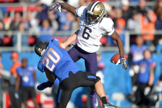 Senior Bowl: CB from Washington Just Keeps Standing out