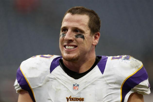 Chad Greenway Among 5 Finalists for NFL Award