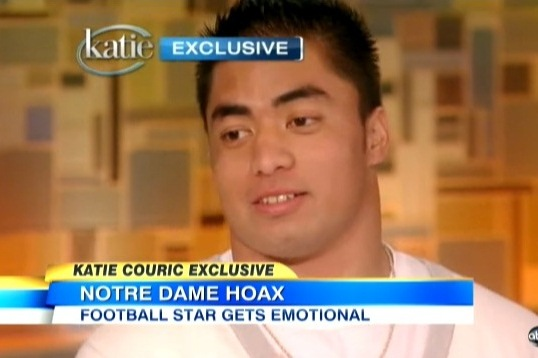 Twitter Erupts as Manti Te'o Explains His Story to Katie Couric