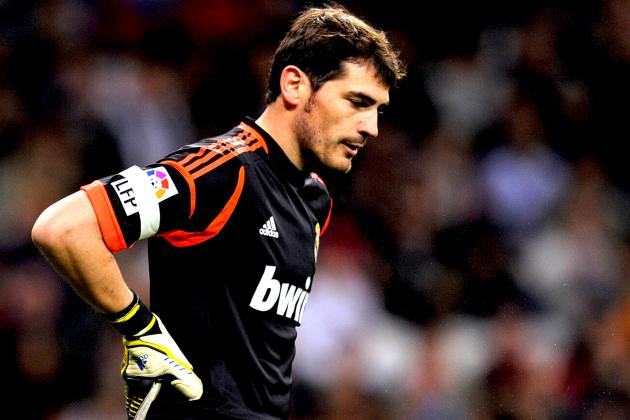 Iker Casillas Injury: Real Madrid Goalkeeper out of Champions League with Injury