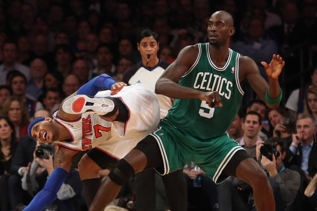Amar'e Hopes Melo Doesn't Seek out KG