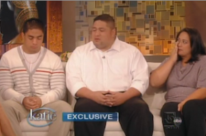 Manti Te'o and Parents All Break Down in Tears