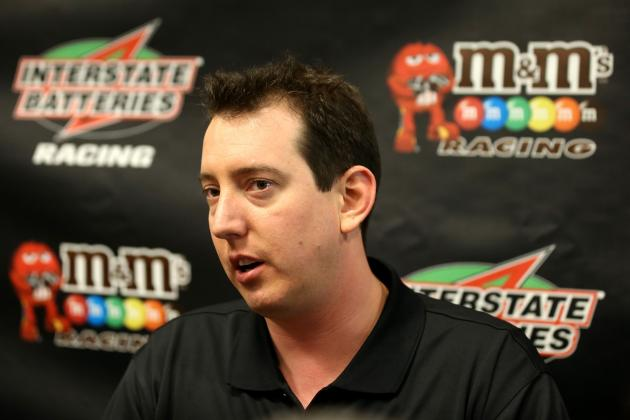 Kyle Busch Inks Contract Extension