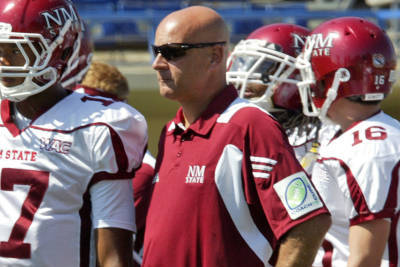Doug Martin Named Interim Head Coach of NM State Football