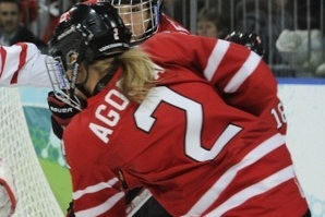 Canadian National Women's Team Bested by Junior B Mustangs in Exhibition