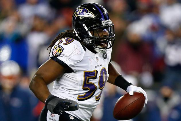 Ravens Linebacker Dannell Ellerbe Did Not Practice Thursday