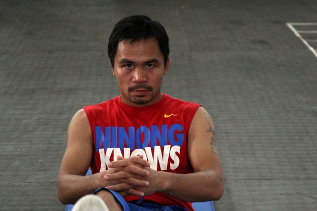 Pacquiao Wants His April Fight in Singapore or Philippines