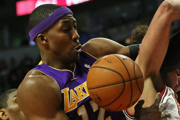 Lakers' Dwight Howard (Shoulder) Cleared to Play Against Jazz