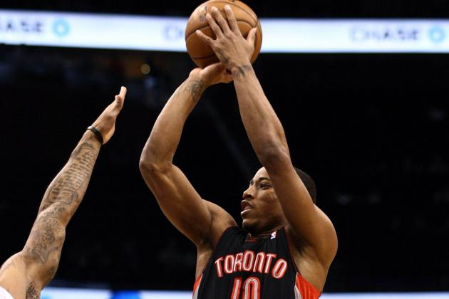 Raptors Sink Magic on DeRozan's Buzzer-Beater