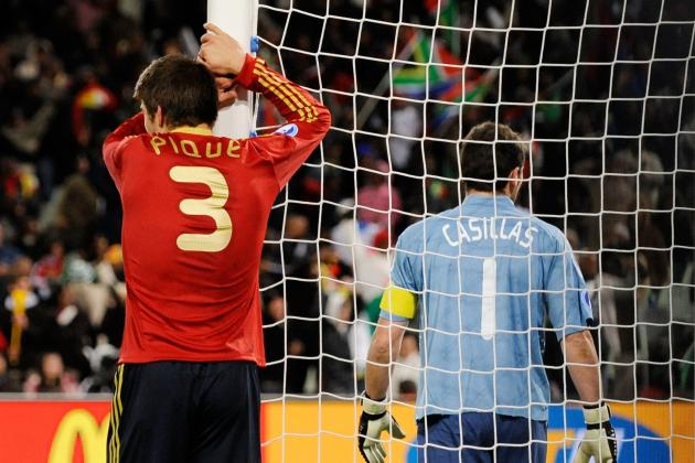Casillas' Absence Will Be Felt by Madrid, Says Pique