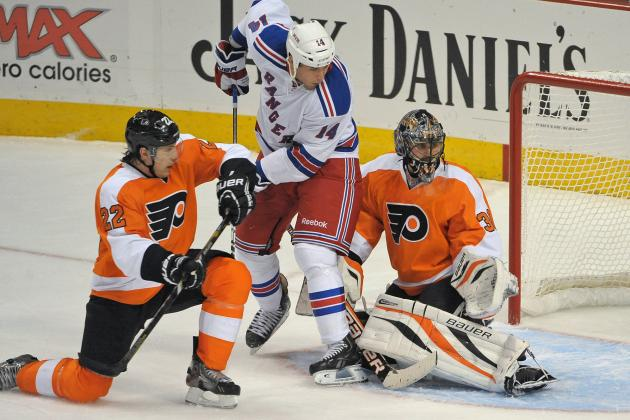 Flyers defeat Rangers for first win of the season