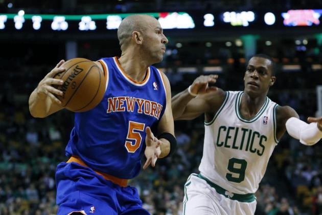 Knicks Beat Celtics Despite Triple-Double from Rajon Rondo