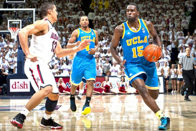 UCLA Upsets Arizona, 84-73