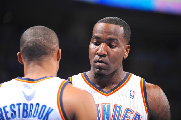 Kendrick Perkins Calls Rajon Rondo and Russell Westbrook Divas 'In a Good Way'