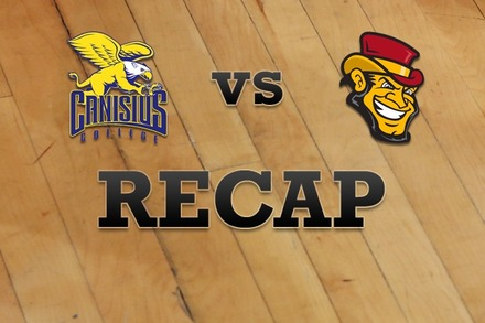 Canisius vs. Iona: Recap and Stats