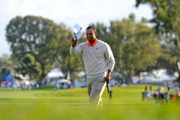 Tiger Woods at Farmers Insurance Open 2013: Day 1 Highlights, Analysis and More