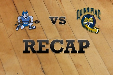 Central Conn.  vs. Quinnipiac: Recap and Stats