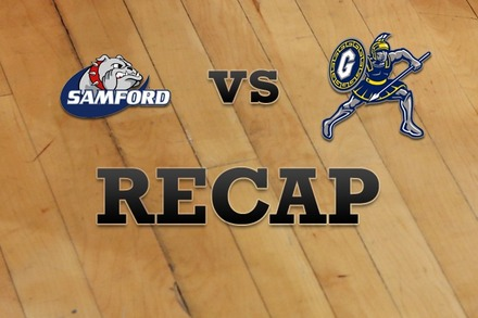 Samford vs. UNC Greensboro: Recap and Stats