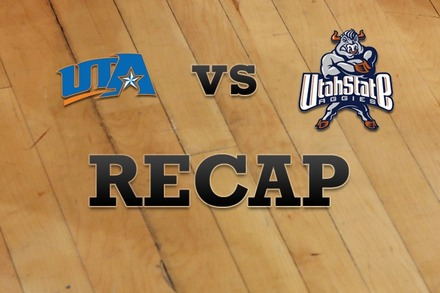 Texas-Arlington vs. Utah State: Recap and Stats